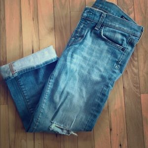 Citizen's Cropped Jeans